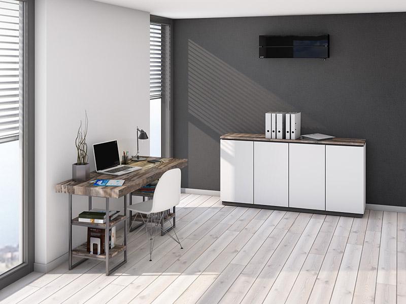 Straus GmbH Mainz | Klimanlage im Arbeitszimmer