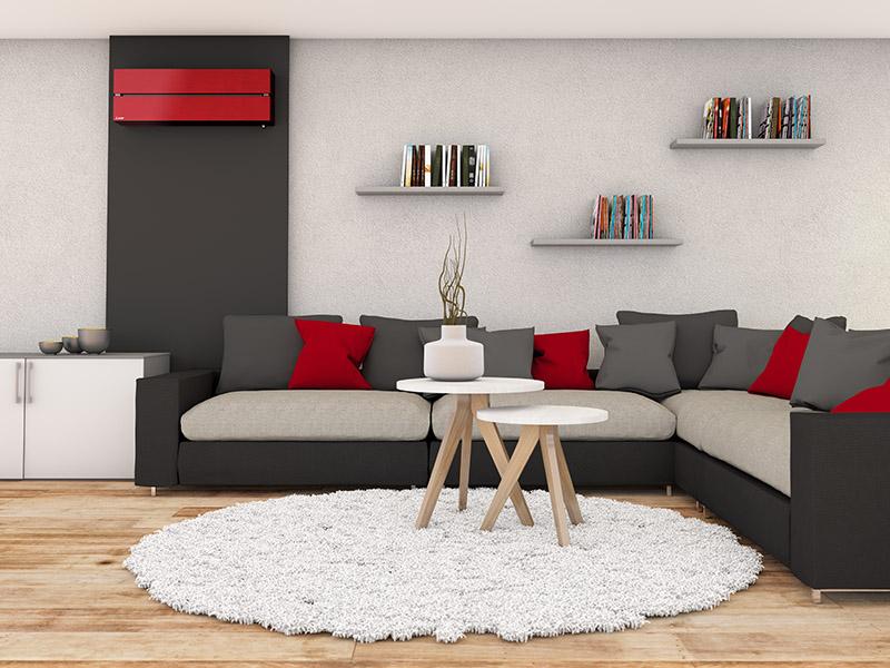 Straus GmbH Mainz | Klimanlage im Wohnzimmer
